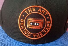 New Era Strapback The Art Behind The Tape DJ Mars Clean Rare Cool Cassette Blue #NewEra #Strapback