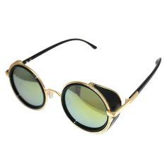 Glasses Cyber  Steampunk Sunglasses