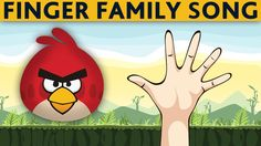 Finger Family ANGRY BIRDS - Daddy Finger Song ANGRY BIRDS - Nursery Rhymes for Children