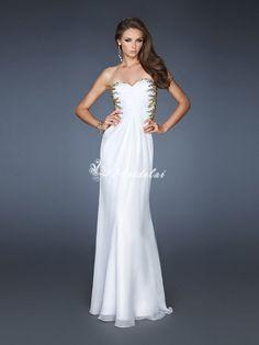 vestidos de gala blanco - Buscar con Google