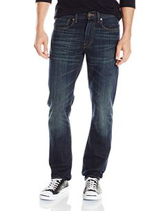 Lucky Brand Men's 121 Heritage Slim Jean in Morro Bay Slim fit, denim jean with a straight legStraight-leg jean featuring button fly and five-pocket stylingWhiskering at hip and fading to knee  121, 7 for all mankind, Bay, Brand, calvin jeans, Diesel, dl1961, g-star, guess jeans, Heritage, Hollister, Hudson, hudson jeans, j brand, Jean, levi, Lucky, lucky brand, Mens, Morro, paige jeans, pepe jeans, Slim, Superdry, true religion