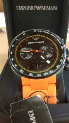 reloj emporio armani ar0387 producto original - unico!!!!