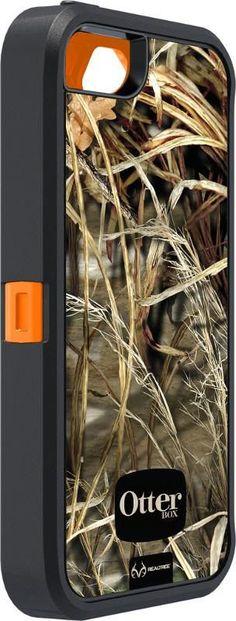 Otterbox iPhone 5/5S Defender Case Realtree® Camo - Max 4HD Blazed