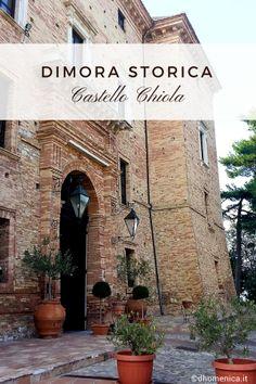 Sorge in un borgo medievale dell'Abruzzo ed è un luogo dove il tempo si fa lento. È il Castello Chiola, una dimora storica per eventi e momenti unici.