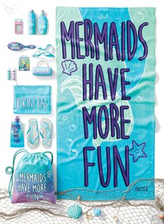 Original. Independent. A dreamer. You're already a mermaid!