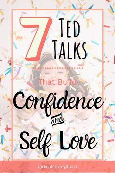 TED Talks that will help you build confidence, improve self esteem, and cultivates self love. These funny and inspirational talks are perfect for a mindset refresh. Building Self Confidence, Self Confidence Tips, Gaining Confidence, How To Gain Confidence, Inspirational Ted Talks, Best Ted Talks, Chakra, Self Improvement Quotes, Stark Sein