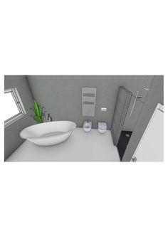 Badplanung mit freistehender Badewanne