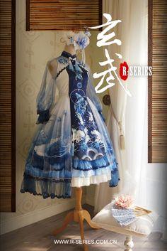 【予約】「玄武」中華風ドレス R-SERIES アールシリーズ