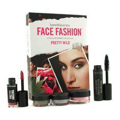 Bare Escentuals  BareMinerals Face Fashion Collection - The Look Of Now Pretty Wild (Blush + 2x Eye Color + Mascara + Lipcolor)