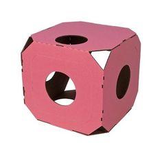 Caixa Modular Rosa Catty Stacks - Meuamigopet.com.br #cat #cats #gato #gatinho #bigode #muamigopet