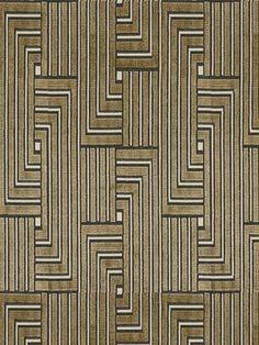 DecoratorsBest - Detail1 - GW GWF-3041-816 - LOUVERED MAZE LINEN - Fabrics - DecoratorsBest