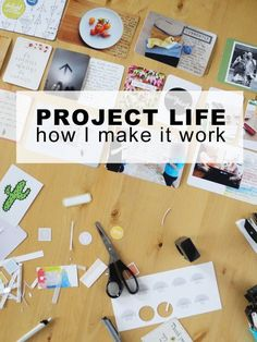 Project Life process tips and tricks Project Life Scrapbook, Project Life Album, Project Life Cards, Project Life Freebies, Project Life Layouts, Project Life Organization, Pocket Page Scrapbooking, Paper Bag Scrapbook, Scrapbooking Ideas