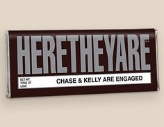 Check out our signature HERETHEYARE twins birth announcements on a genuine HERSHEY'S chocolate bar. The classic HERSHEY'S bar look is slightly modified to provide space for your babies' names. Personalized candy bars are always a big hit. Chocolate Wedding Favors, Candy Wedding Favors, Personalized Candy Bars, Personalized Wedding Favors, Family Reunion Favors, Family Reunions, 2nd Birth, Baby Girl Announcement, Birth Announcements