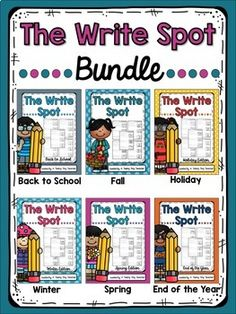 The Write Spot {Bundle}
