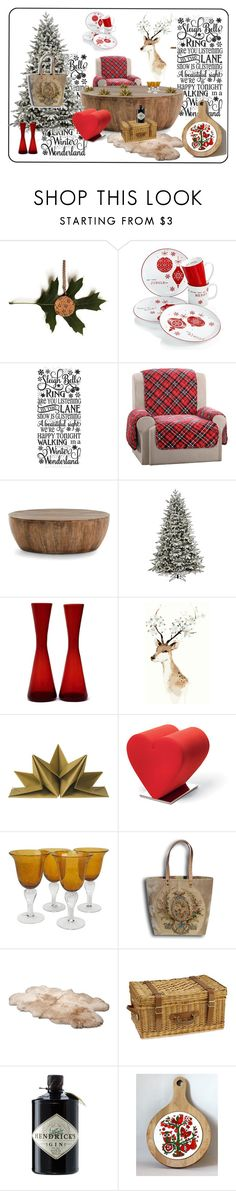 Christmas 2016 by sylvia-simon on Polyvore featuring interior, interiors, interior design, maison, home decor, interior decorating, Arteriors, Sure Fit, Opinion Ciatti and UGG Australia