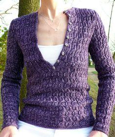 henley with a twist | knitspot