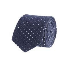 Pindot tie - wool ties - Men's ties & pocket squares - J.Crew