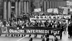 FIAT, TORINO, 1980 - 2014 - dalla marcia dei 40.000 alla FCA