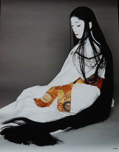 Bando Tamasaburo. National Living Treasure of Japan, Bando Tamasaburo, Kabuki actor