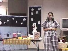 Auntie Renee Storyteller - Jamaal's Kwanzaa Story
