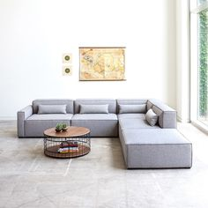 There is absolutely no reason for me to currently want to purchase a new  sofa. I know it's a really large investment and we shouldn't even be  considering it, but my brain doesn't work that way. Ideally, I would love a  modular sectional, something that can be configured any way we see fit. It