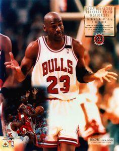 Michael Jordan and Bulls win second championship over Blazers.