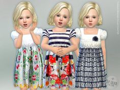 Toddler Dresses Collection P25  Found in TSR Category 'Sims 4 Toddler Female'