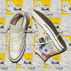 The Converse All Star Andy Warhol Collection.  Drops 2/7. Find it > www.converse.com/warhol