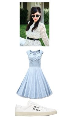 """""""Untitled #321"""" by kendall-starwars ❤ liked on Polyvore featuring Yves Saint Laurent"""