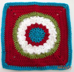 Block #14 for the Year Long Moogly Afghan CAL! ♥ *****BLOCK # 14***** Starfire by Melinda Miller
