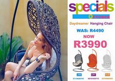 Daydreamer Hanging Chair Specials Hanging Chair, Daydream, Creative, Hanging Chair Stand