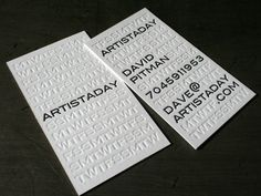 Possibly the best business cards ever made