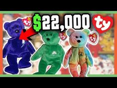 0159cf9638d RARE BEANIE BABIES WORTH MONEY - 90 s CHILDHOOD TOYS WORTH A FORTUNE!!