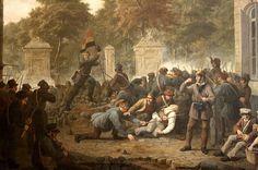 Tafereel van de revolutie - Constantin Fidèle Coene, 1830 Begin van de Belgische Opstand