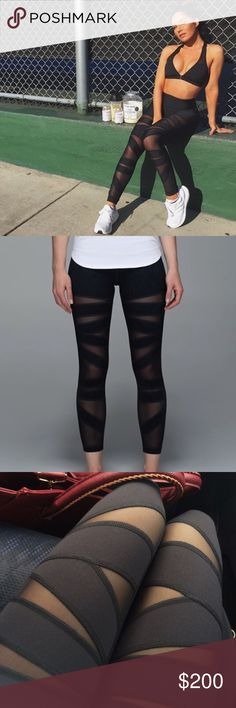 Lululemon High Times Leggings Worn twice in perfect condition. Price reflects rarity and is priced to compete with other sellers. No bundle on this item. Will only trade for high end clothing. lululemon athletica Pants Leggings
