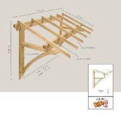 Bilderesultat for como hacer tejado de madera PARA PUERTA