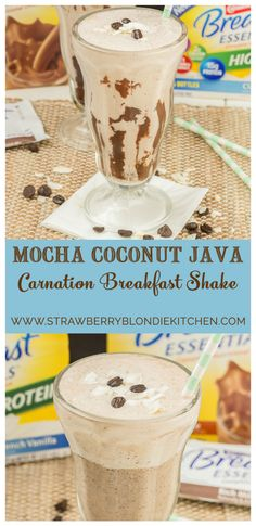 Start your morning off on the right foot with this Mocha Coconut Java Carnation Breakfast Shake. It's packed with protein and vitamins. Get the recipe that infuses espresso into the mix.