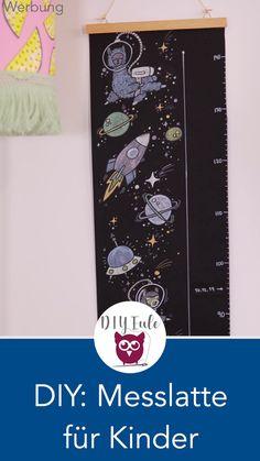 DIY: designing the yardstick for children - [Advertising] DIY measuring stick or measuring stick for children make and design yourself with the - Kindergarten Art Projects, Craft Projects, Children Advertising, Diy Projects For Beginners, Sewing Art, Fun Hobbies, Diy Garden Decor, Sewing For Kids, Sewing Tutorials