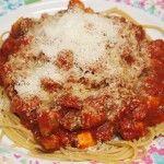 Clean eating spaghetti sauce / clean eating