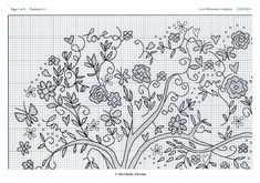 Images in Adler's post Le Point, Love And Marriage, Blackwork, Needlework, Cross Stitch, Embroidery, Flowers, Bothy, Image
