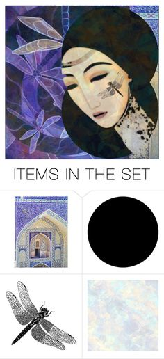"""""""the girl with the dragonfly tattoo"""" by jazzy ❤ liked on Polyvore featuring art"""