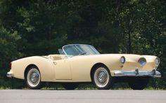 """Kaiser Darrin.Фирма, имя которой нынче помнят лишь спецы, в отчаянной борьбе с американскими гигантами """"Большой тройки"""" предложила в 1954-м году кабриолет Darrin. Банальный 6-цилиндровый двигатель в 90 л.с. сочетался с неординарным дизайном: в частности, двери сдвигались в передние крылья. Увы, покупатели фантазию не оценили, а вскоре компания влилась в концерн AMC."""