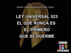 Roncar ley universal