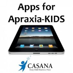 "Many families are asking about tablet applications – ""apps"" –  specifically for childhood apraxia of speech.  Below you will find apps described as being for our kids with apraxia.  Please know that apps should be used with your supervision to support your child's speech practice or to assist them in their communication attempts.  Some apps …"