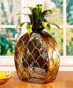 Look at this #zulilyfind! Pineapple Fan #zulilyfinds