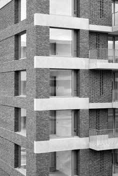 Wohnüberbauung Wülflingen, Winterthur | Boltshauser Architekten, Zürich, Schweiz