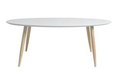Table basse ovale MANON Blanc - BUT.fr