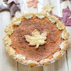 The easiest and most delicious Sweet Potato Pie (Recipe adapted from the legendary Dooky Chase's Restaurant in New Orleans)