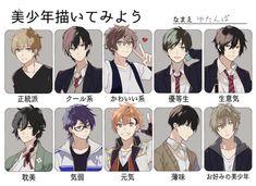 How To Draw Anime Hair, Anime Boy Hair, Manga Hair, Anime Art Girl, Anime Guys, Manga Anime, Character Design Animation, Character Drawing, Anime Drawings Sketches