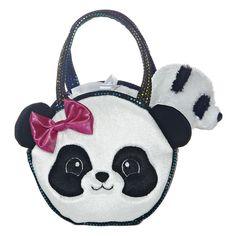 Fancy Pals - Pretty Panda Pet Carrier 7in